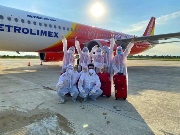 Vietjet y su contribucion a los vuelos de repatriacion hinh anh 1