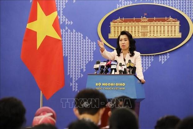 Portavoz de Cancilleria vietnamita informa sobre pescadores detenidos en Malasia hinh anh 1