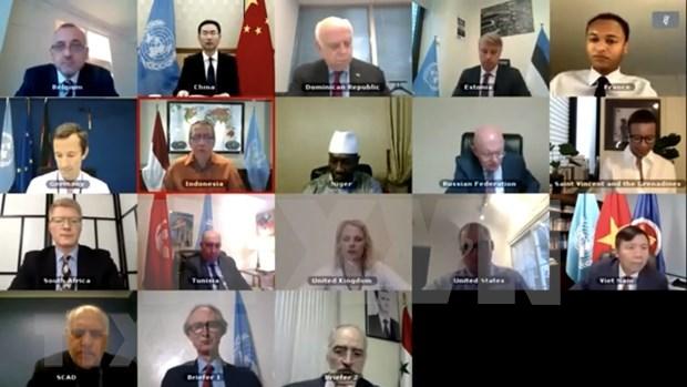 Vietnam pide garantizar entorno de seguridad favorable en Siria hinh anh 1