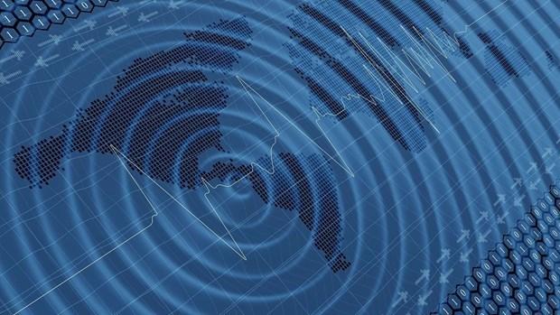 Registran fuerte sismo en el mar de Indonesia hinh anh 1