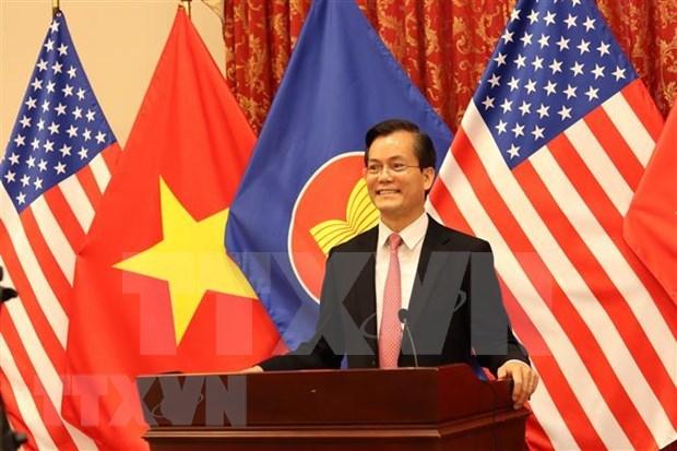 Celebran en Washington ceremonia conmemorativa por aniversario fundacional de la ASEAN hinh anh 1