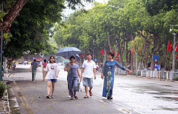 COVID-19: Suspenden actividades en espacios peatonales en Hanoi hinh anh 1