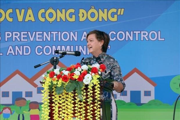 Desarrollan campana en Vietnam para animar a ninos a encontrar diversion en casa durante el COVID-19 hinh anh 1