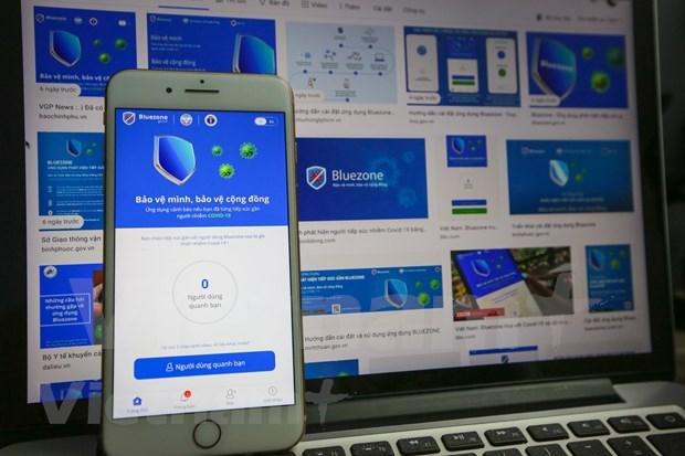 COVID- 19: Aplicacion de rastreo Bluezone supera 20 millones de descargas hinh anh 1