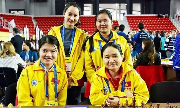 Vietnam participa en Olimpiada de Ajedrez 2020 hinh anh 1