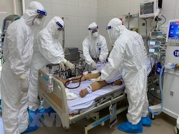 Asciende a 27 numero de victimas mortales de COVID-19 en Vietnam hinh anh 1