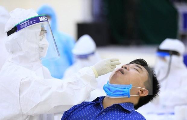 Impulsa Hanoi prueba rapida para controlar la propagacion de COVID-19 hinh anh 1