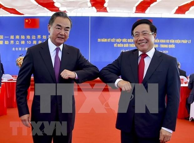 Celebran Vietnam y China XX aniversario de la firma del Acuerdo de Frontera terrestre hinh anh 1