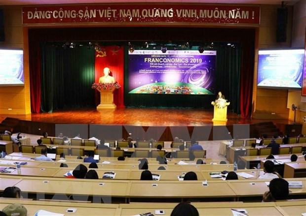 Foro internacional Franconomics 2020 tendra lugar en Vietnam en octubre hinh anh 1