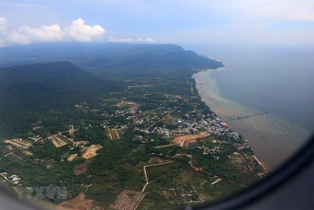 Provincia de Kien Giang reajusta superficie de areas de Reserva Marina de Phu Quoc hinh anh 1