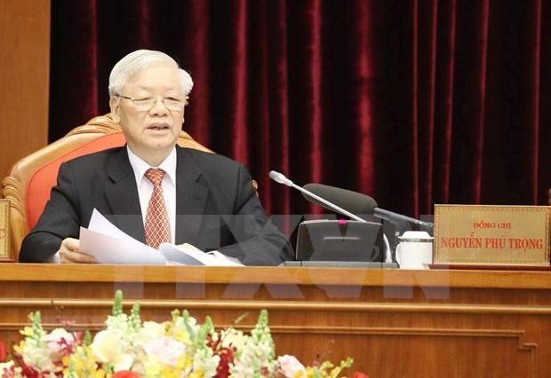 """Voces """"desentonadas"""" jamas podran degradar la confianza de Vietnam en su Partido hinh anh 1"""