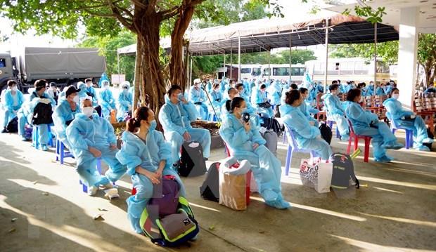 Vietnam reporta seis casos nuevos del COVID-19 hinh anh 1