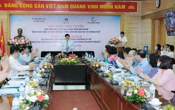 Vietnam invierte mas de 126 millones de dolares para sistema de salud de nivel municipal hinh anh 1