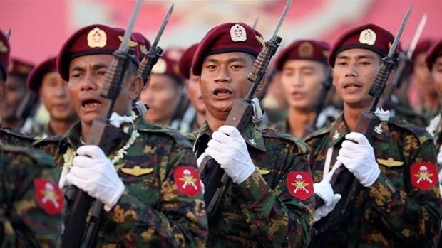 Ejercito de Myanmar suspende la operacion contra grupos armados por un mes mas hinh anh 1