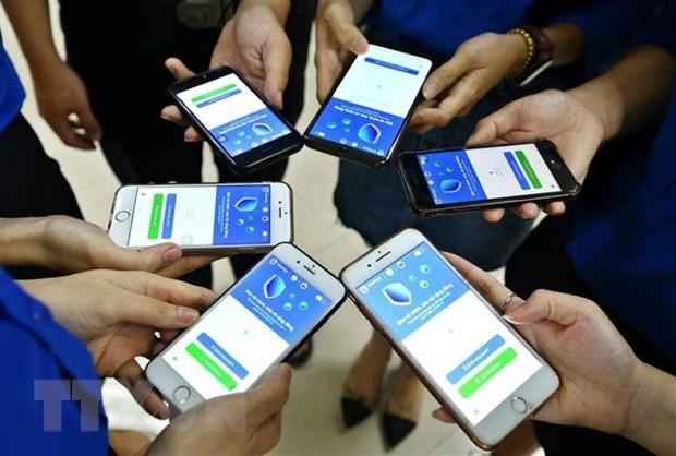 Vietnam registra mas de 20,8 millones de descargas de aplicacion Bluezone hinh anh 1