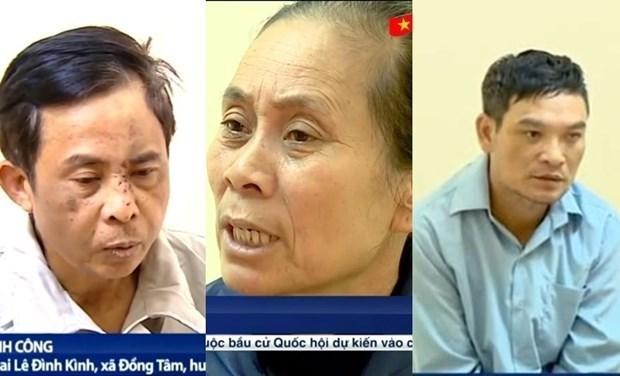 Hanoi: Juzgaran a 29 involucrados en disturbios de Dong Tam en septiembre hinh anh 1