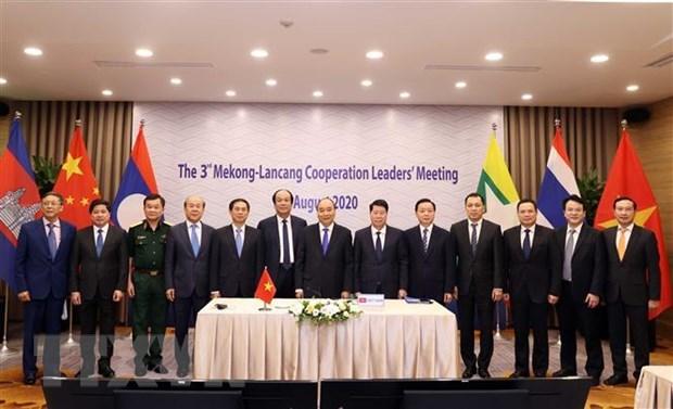 Paises aprecian logros en la cooperacion Mekong-Lancang hinh anh 1