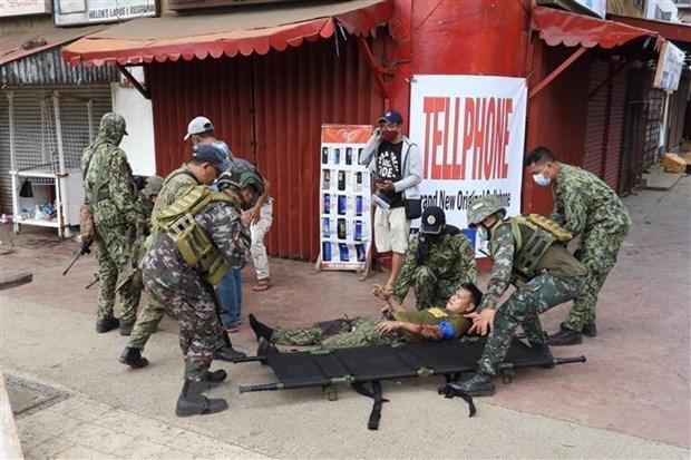Vietnam condena ataque terrorista en Filipinas hinh anh 1
