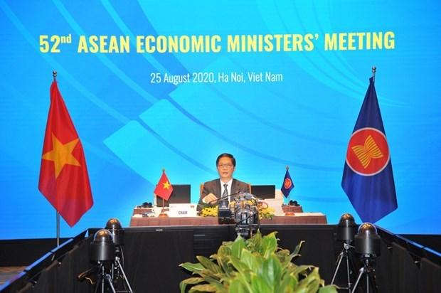Ministros de la ASEAN revisan la implementacion de iniciativas economicas hinh anh 1