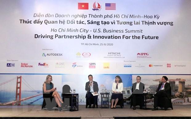 Refuerzan lazos de asociacion entre Ciudad Ho Chi Minh y Estados Unidos hinh anh 1