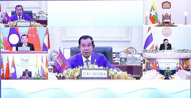 Camboya llama a impulsar el progreso de la Cooperacion Mekong- Lancang hinh anh 1