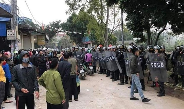 Hanoi: Juzgaran a 29 involucrados en disturbios de Dong Tam en septiembre hinh anh 3
