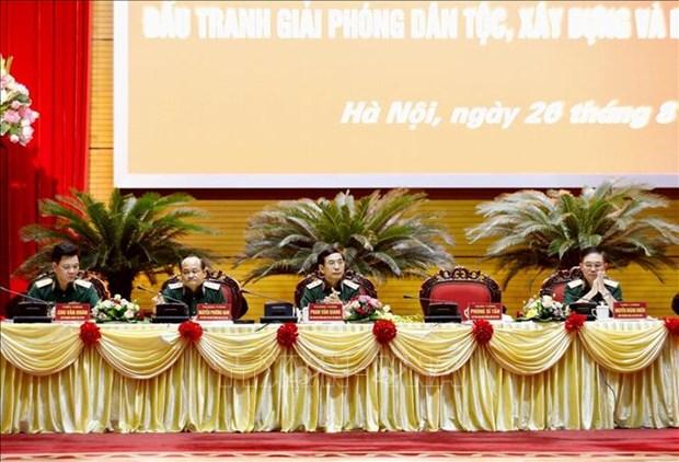 Valoran aportes del Estado Mayor del Ejercito de Vietnam a la defensa nacional hinh anh 1
