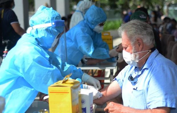 Vietnam registra 592 pacientes curados del COVID-19 hinh anh 1