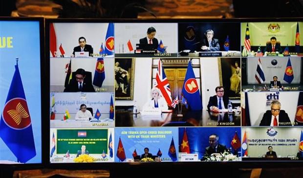 Buscan ASEAN y Reino Unido aliviar impactos economicos de COVID-19 hinh anh 1