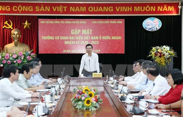 Vietnam por impulsar labores de relaciones exteriores en la nueva coyuntura hinh anh 1