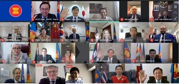 Trabaja ASEAN para impulsar conectividad intrabloque y con socios hinh anh 1