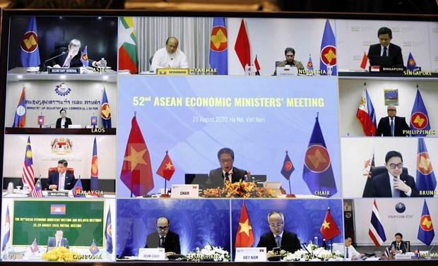 Iniciativas de Vietnam contribuyen a elevar el papel de la Comunidad Economica de ASEAN hinh anh 1