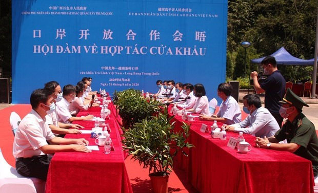 Vietnam y China fomentan cooperacion en puertas fronterizas hinh anh 1