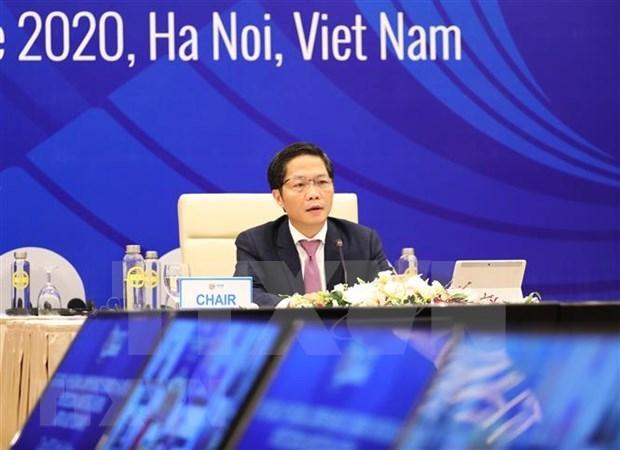 Vietnam preside VIII Reunion de Ministros de economia de RCEP hinh anh 1