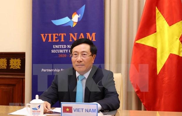 Diplomacia de Vietnam mantiene firme voluntad de acompanar el desarrollo nacional hinh anh 1