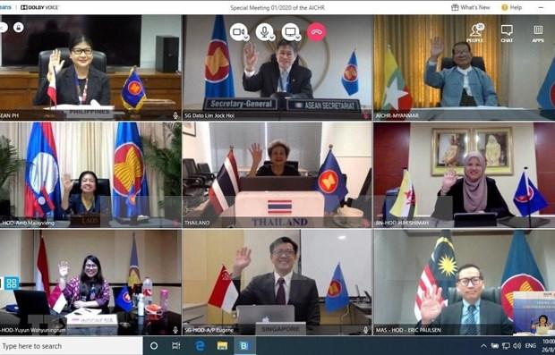 Preside Vietnam reunion regional sobre derechos humanos hinh anh 1