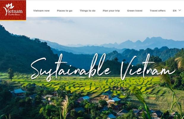 Estrenan sitio web para presentar turismo sostenible de Vietnam a extranjeros hinh anh 1
