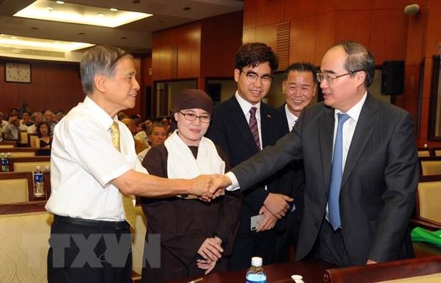 Residentes vietnamitas en extranjero es una parte inseparable de la Patria hinh anh 1