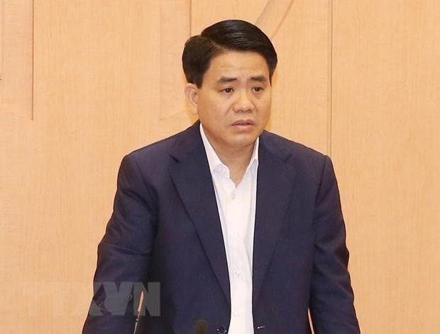 Detenido presidente del Comite Popular de Hanoi hinh anh 1
