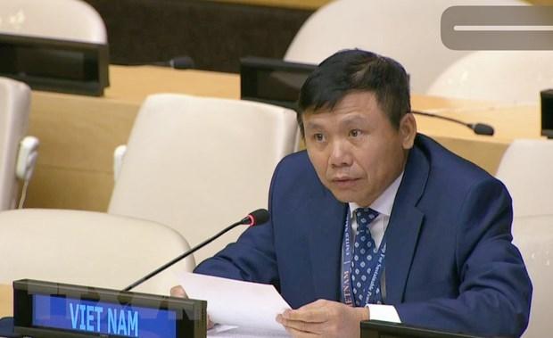 Destacan aportes de diplomacia vietnamita en los ultimos 75 anos hinh anh 1