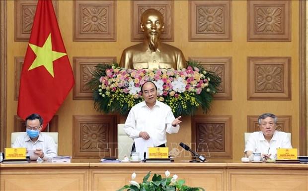 Premier de Vietnam traza orientaciones para futuras tareas socioeconomicas hinh anh 1