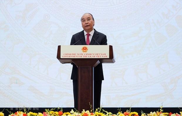 Primer ministro de Vietnam preside ceremonia conmemorativa por el Dia Nacional hinh anh 1