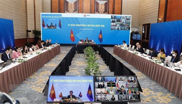 Logran paises participantes de RCEP avances significativos en negociaciones hinh anh 1