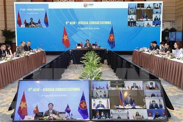 ASEAN y Rusia por promover cooperacion economica hinh anh 1