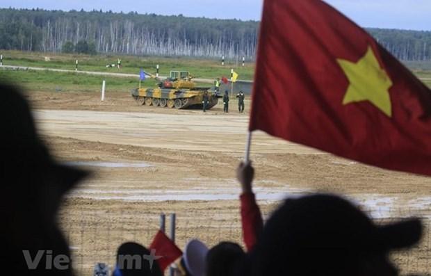 Vietnam logra alta posicion en Juegos Militares Internacionales 2020 hinh anh 1