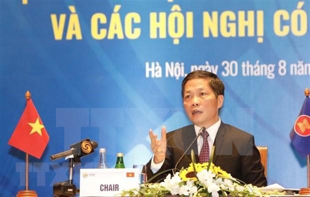 Resaltan esfuerzos de ASEAN por sellar a finales de 2020 el Acuerdo de RCEP hinh anh 1
