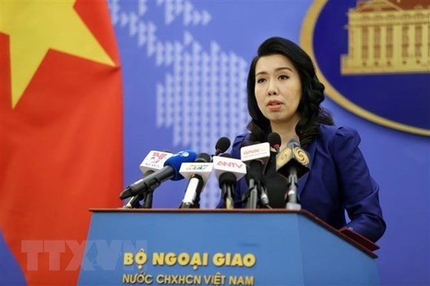Reafirma Vietnam postura sobre ejercicio militar de China en Mar del Este hinh anh 1