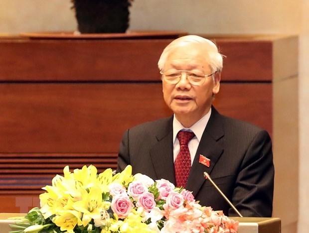 Preparacion del XIII Congreso del Partido Comunista: paso clave para desarrollo de Vietnam en nueva etapa hinh anh 1