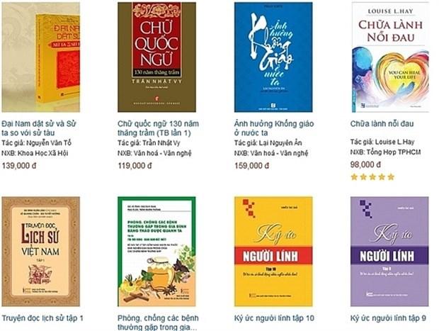 Presentaran en Vietnam exposicion virtual de libros por Dia de la Independencia hinh anh 1