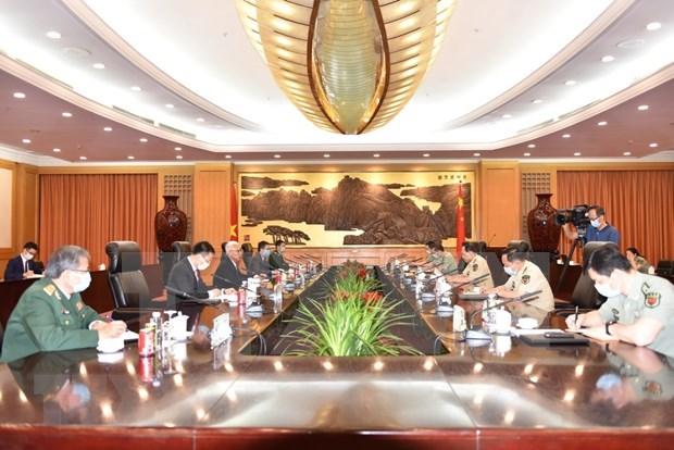 Abogan Vietnam y China por solucion apropiada de diferencias en el mar hinh anh 1